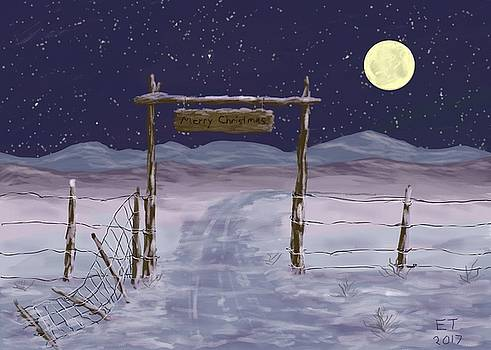 Old Ranch Gate  by Ellie Taylor