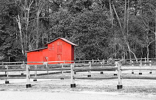 Old Red Barn by Rob Byron