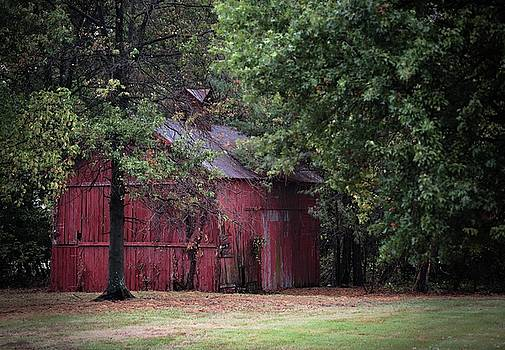 Old Red Barn by Scott Fracasso