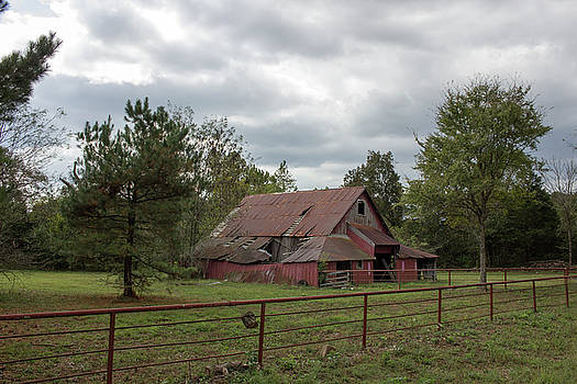 Old Red Barn by Tammy Chesney