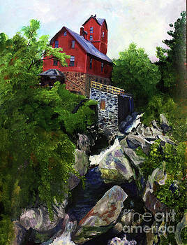 Donna Walsh - Old Red Mill in Jericho VT