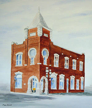 Old Red Still Stands by Pam Hurst