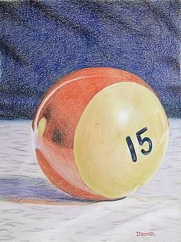 Old Red Stripe 15 by Robert Decker