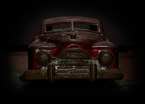 Art Whitton - Old Red Toy Car Front