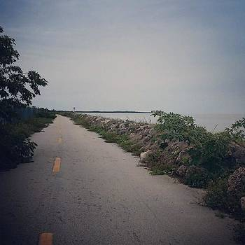 Old Roads And Ocean #keywest #travel by Sarah Marie