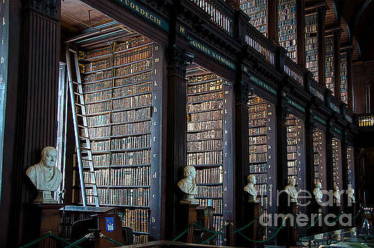 RicardMN Photography - Old Room in the Trinity College Library in Dublin