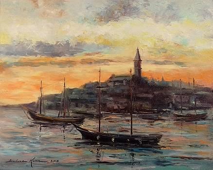 Old Rovanij harbor by Luke Karcz