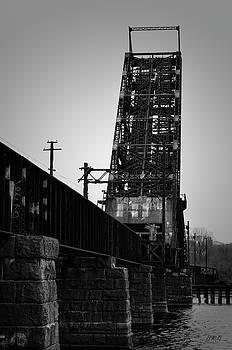 Old RR Bridge Providence RI by Dave Gordon