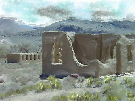 Old Ruins by Richard Baron