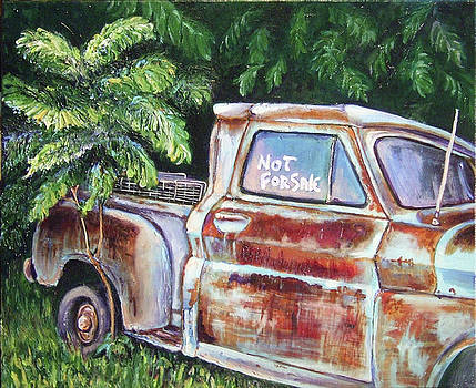 Old Rusted Chevy by Rachel Cotton