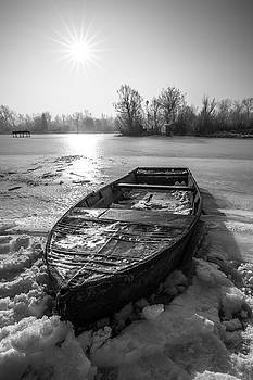 Old rusty boat by Davorin Mance