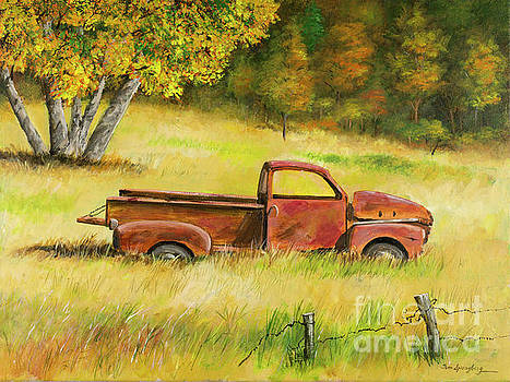 Old Rusty Truck by Timothy Spongberg