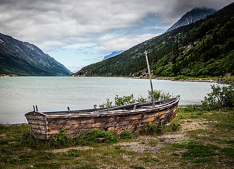 Old Sailboat by Ed Clark