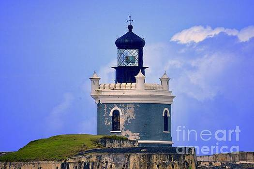 Old San Juan Light by Buddy Morrison