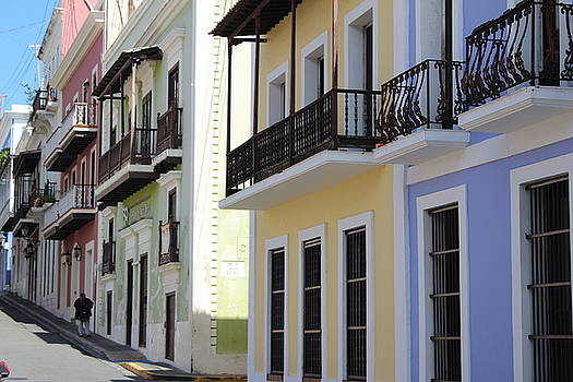 Old San Juan Puerto Rico Downtown  by Robert Smith
