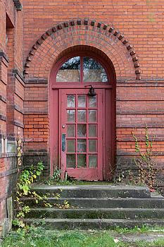 Old School House Door by Fran Riley