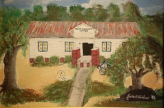 Alvin South Carolina Old School House by Joetta Beauford