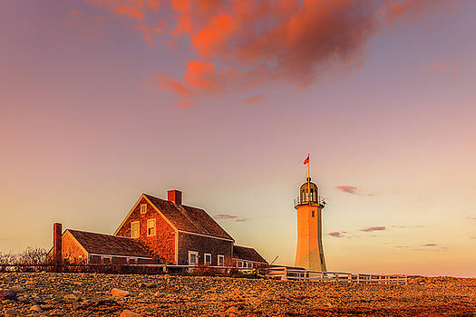 Old Scituate Light by Michael Petrizzo