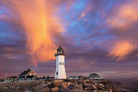 Old Scituate Lighthouse 2 by Marcelo Barrera