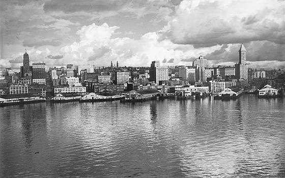 Old Seattle 1949 by USACE-Public Domain