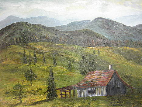 Old Shack by Brian Hustead