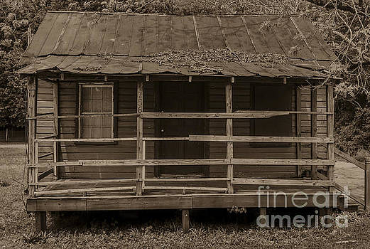 Dale Powell - Old Shack in Sepia