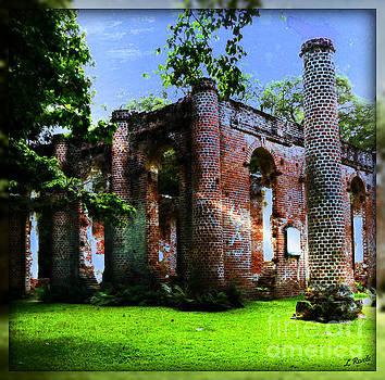 Old Sheldon Church II by Leslie Revels