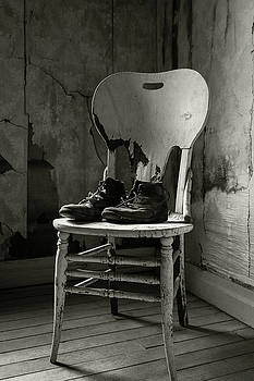 Rick Strobaugh - Old Shoes on a Chair