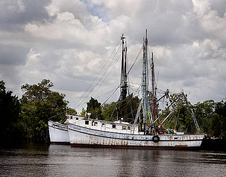 Terry Shoemaker - Old Shrimp Boats