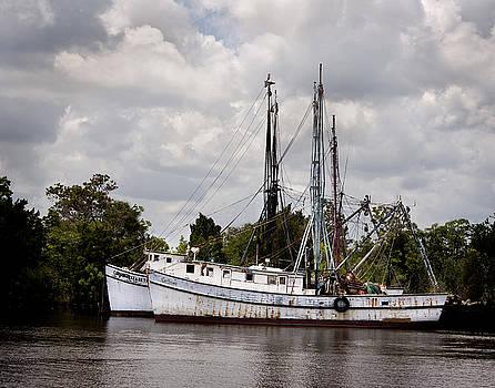 Terry Shoemaker - Old Shrimp Boats