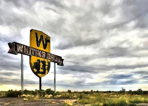 Mel Steinhauer - Old Sign On Route 66