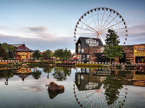 Ole Smoky Tennessee Moonshine Reflection by Greg Mimbs