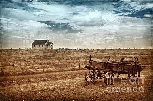 Old South Dakota Town by Sharon Seaward
