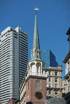 Old South Meeting House Boston by Thomas Logan