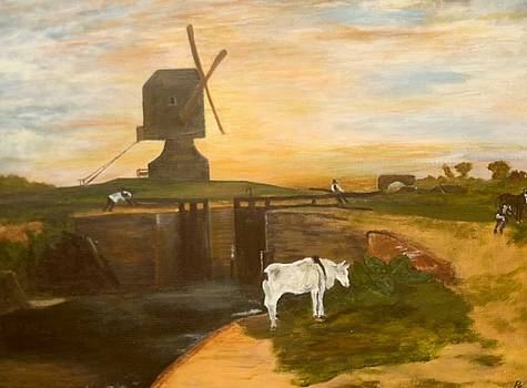 'old Southall Mill' by Paul Carter
