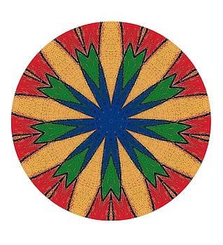 Old Spanish Wheel by Nelma Grace Higgins