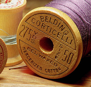 Old Spool of Thread by Larry Jost