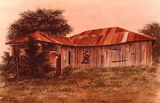 Old Station Filler Up by Pam Hurst