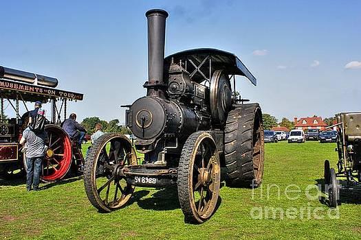 Old Steam Engine  by Vicki Spindler
