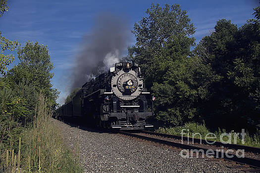 Old Steamer 765 by Jim Lepard