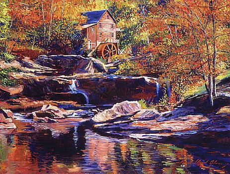Old Stone Millhouse by David Lloyd Glover