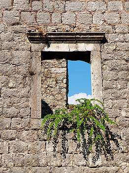 Old Stone Window by Rae Tucker