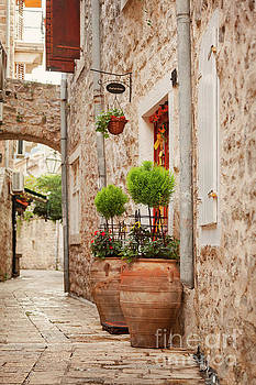 Old street in Budva by Sophie McAulay