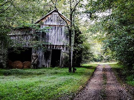 Old Tennessee Tobacco Barn by Chris Tarpening