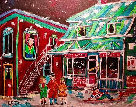 Old Terrebonne Chez Gaston by Michael Litvack