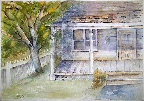 Old Texas Home by Karen Frye