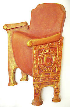 Old Theatre Chair by Neda Laketic