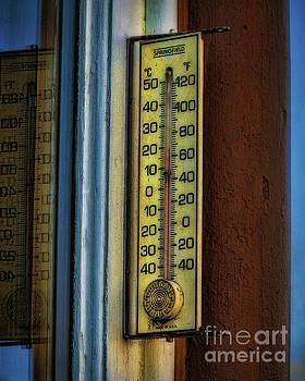 Jon Burch Photography - Old Thermometer