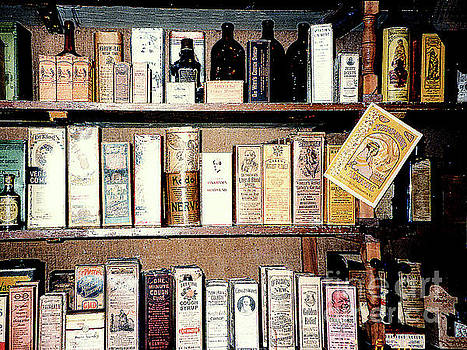 Old-Time Apothecary Shop - Farmer's Museum - Cooperstown, NY  by Merton Allen