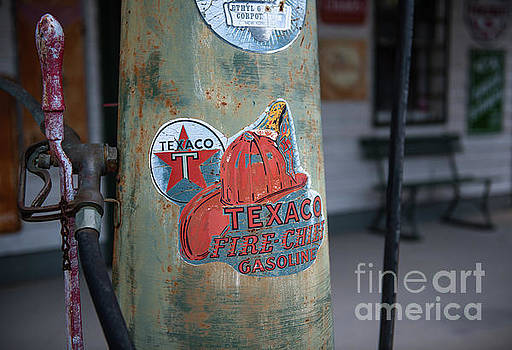 Dale Powell - Old Time Gas Station Pump